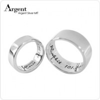 姓名戒指,純銀,刻字,禮物,生日,結婚,情人節,紀念日,女朋友,男朋友,對戒,七夕,克制化商品,熱賣