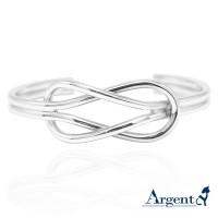 純銀版手環