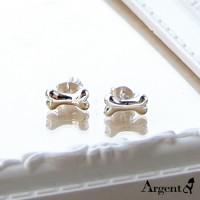 狗骨頭耳環,925純銀