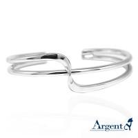 純銀版手環 ,925純銀