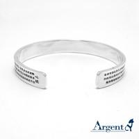 925純銀,心經手環