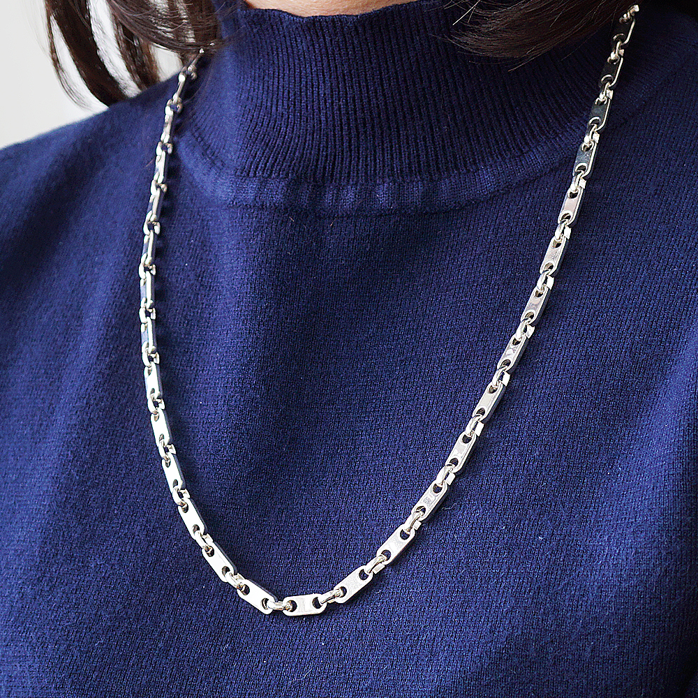 「寒冰」造型純銀項鍊銀飾|銀項鍊推薦