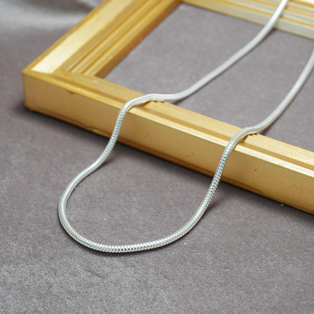 蛇鍊純銀風格項鍊銀飾|銀項鍊推薦