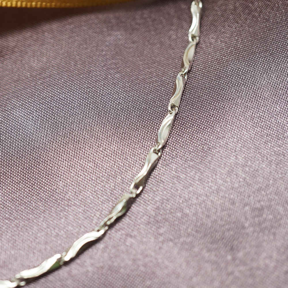 元寶鍊純銀風格項鍊銀飾|銀項鍊推薦