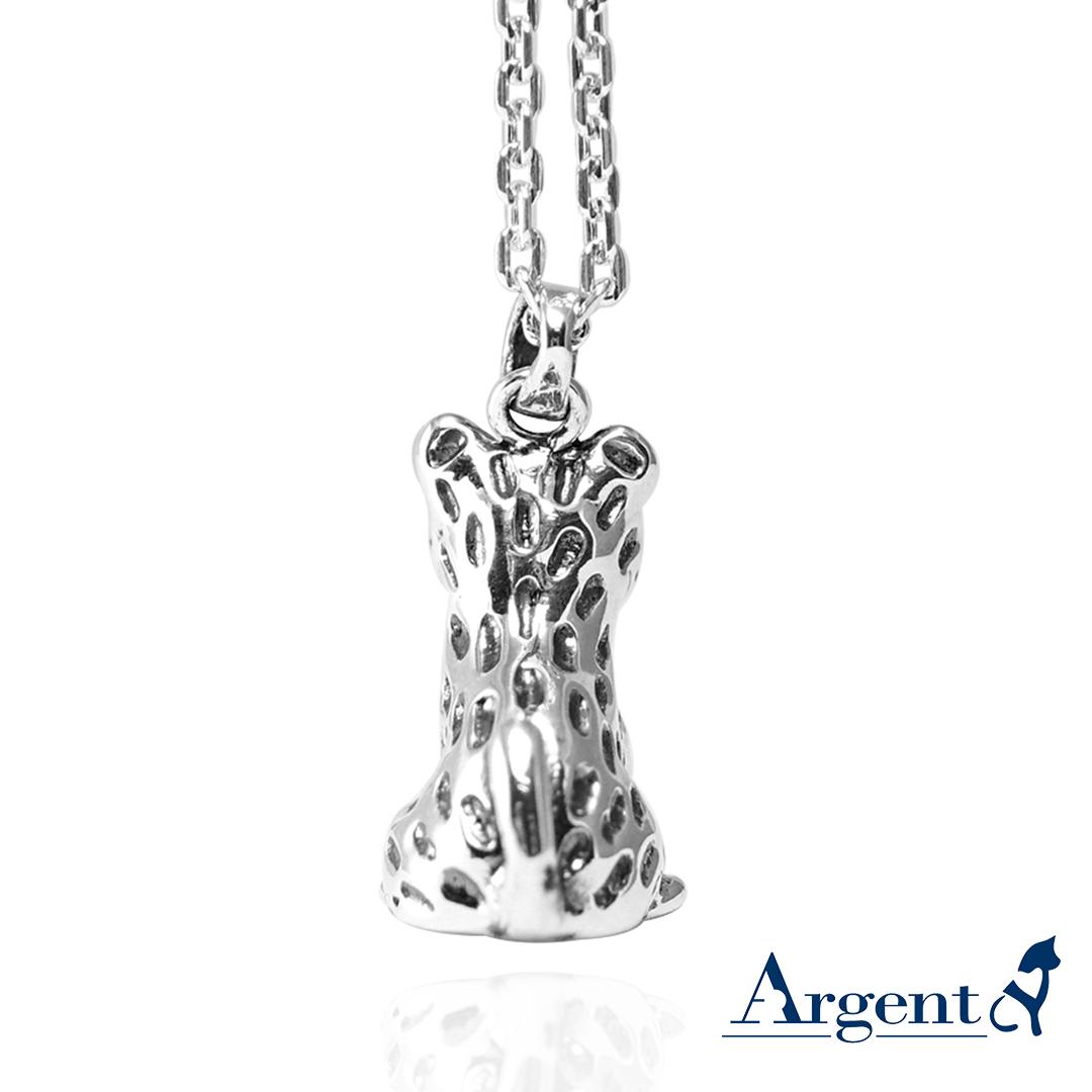 石虎造型純銀項鍊|銀飾推薦