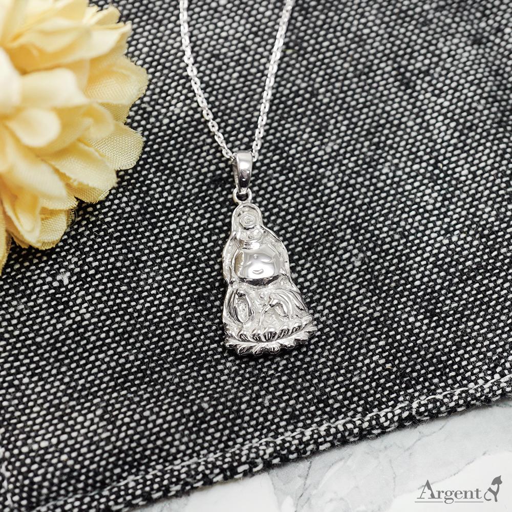 「Q版觀音」神明系列銀飾|銀項鍊推薦
