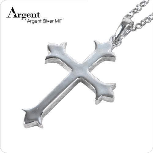 大聖十字造型純銀項鍊銀飾|銀項鍊推薦