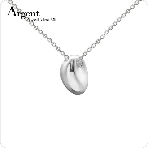 天使之淚造型純銀項鍊銀飾