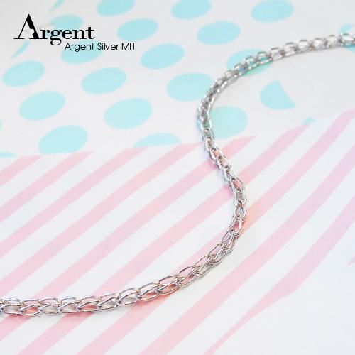 稻穗風格造型純銀項鍊銀飾|銀項鍊推薦