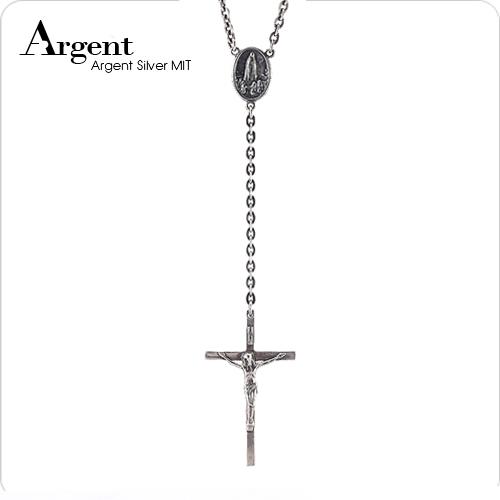 耶和華十字INRI純銀項鍊銀飾|銀項鍊推薦