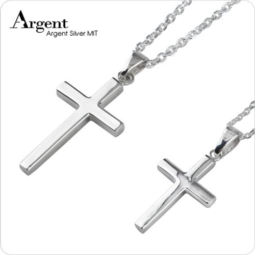 方柱十字架情人纯银对链 大+中坠 情侣对链推荐