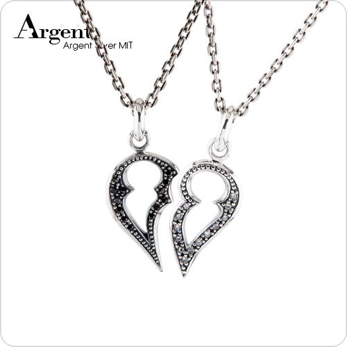心戀組合情人純銀對鍊銀飾|情侶對鍊推薦