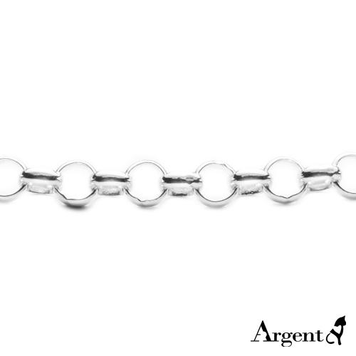 「寒冰」造型純銀項鍊銀飾 銀項鍊推薦