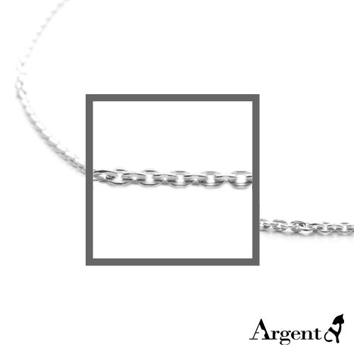 方格鍊2.2mm造型純銀項鍊銀飾|銀項鍊推薦