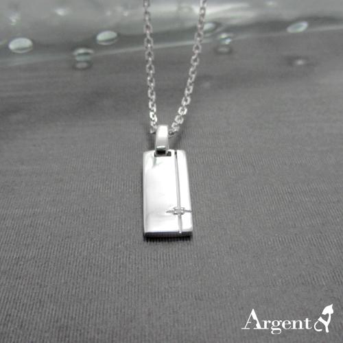 「線鑽(白鑽)」純銀項鍊推薦