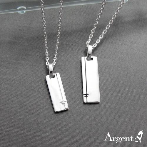 「線鑽」原創情人純銀對鍊|情侶對鍊推薦