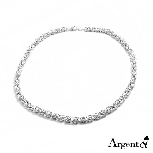 「喜悅」精編造型純銀項鍊銀飾|銀項鍊推薦