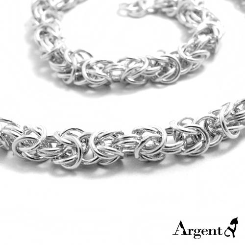 「喜悅」精編造型純銀項鍊銀飾 銀項鍊推薦