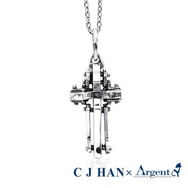 「殿堂」造型純銀項鍊