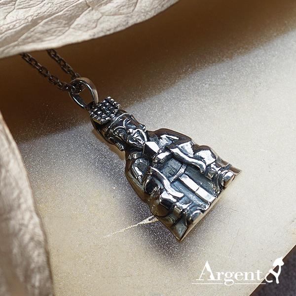 「玉皇大帝」神明系列銀飾|銀項鍊推薦