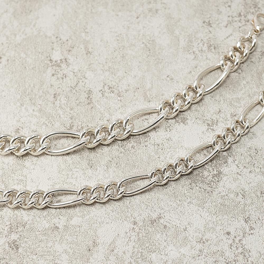 節節鍊(11mm+13mm)造型系列純銀手鍊|925銀飾