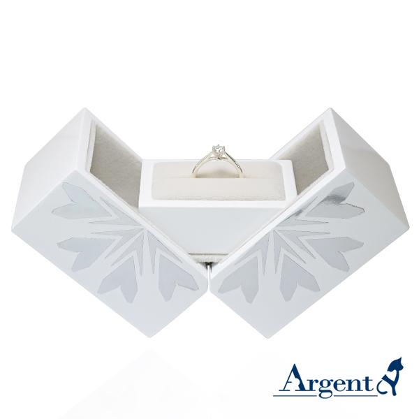求婚戒指盒|八心八箭戒指盒-可做展示架
