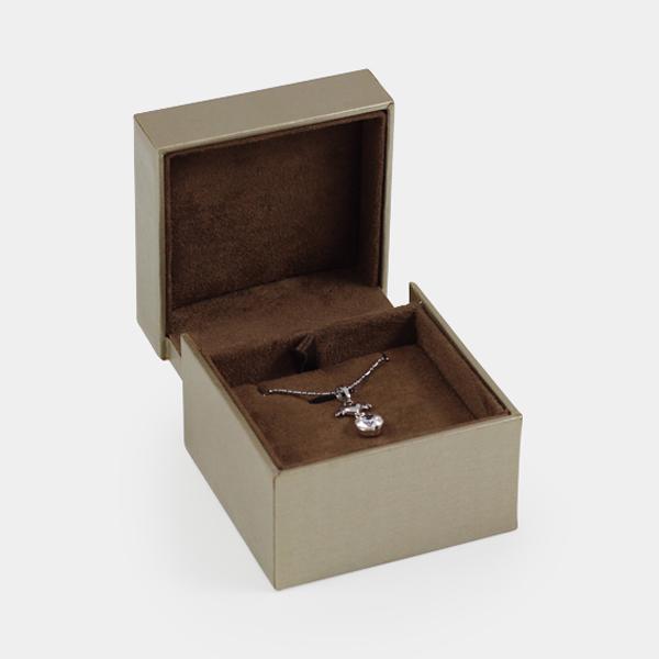 抽屜耳墜盒(大)(金絲色)(深咖啡底)墜盒項鍊收納盒
