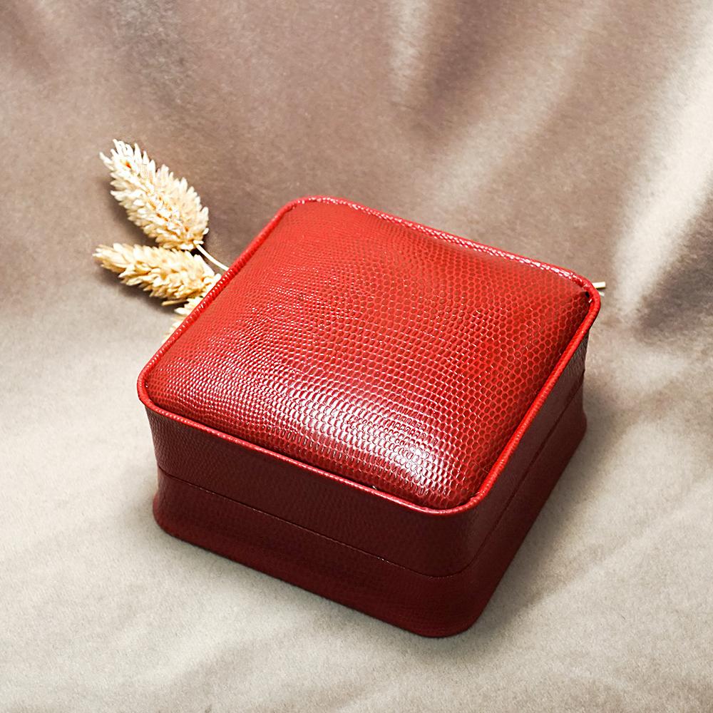 生日結婚送禮盒|皇家貴族手環盒(外紅內黑)