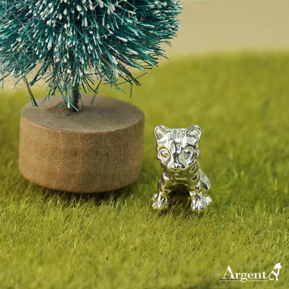 石虎造型純銀擺飾|銀飾推薦