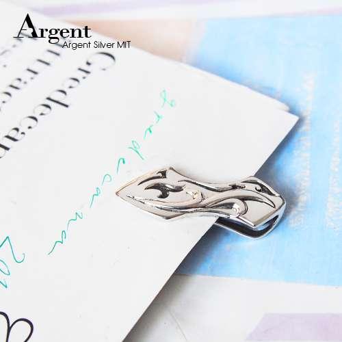 「浪潮」簍空雕刻造型純銀鈔票夾推薦