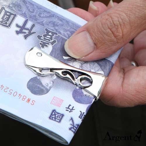 「典藏」經典雕刻造型純銀鈔票夾推薦