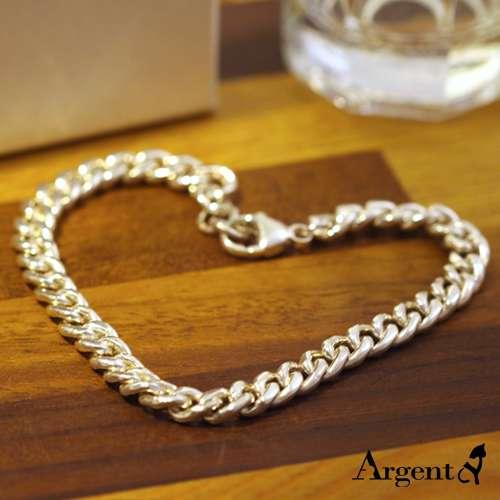 细款「扁链」经典系列纯银手链|925银饰