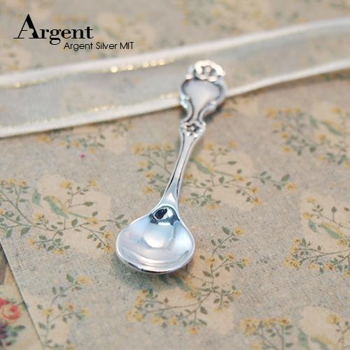 素面古典銀湯匙純銀用品|925銀飾推薦