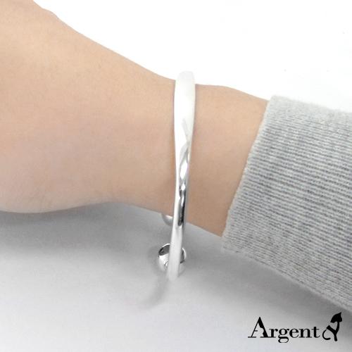 「環珠」優雅簡約純銀手環|925銀飾