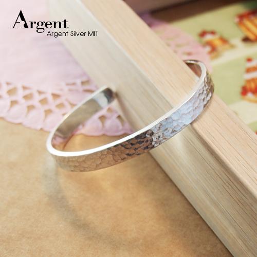 8mm「甜蜜烙印」手工系列純銀手環|925銀飾