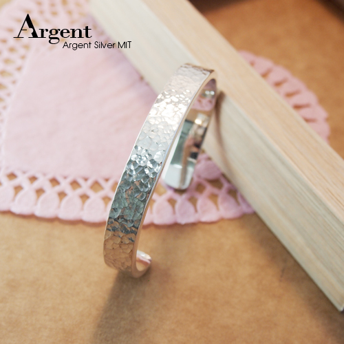 10mm「甜蜜烙印」手工系列純銀手環|925銀飾
