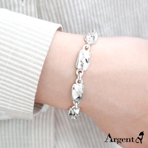 特粗款「波纹」系列纯银手链|925银饰