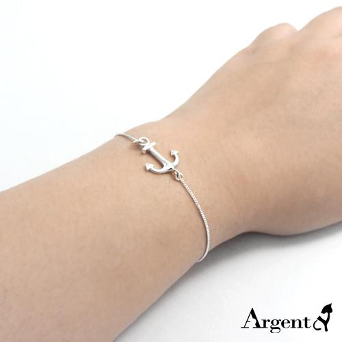 「银锚」航海主题纯银手链|925银饰