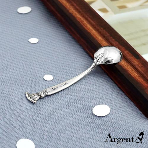 古典銀湯匙刻字純銀用品|925銀飾推薦