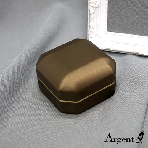 勁亮八角婚戒盒-求婚戒指盒|LED戒指盒