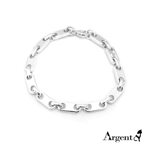 「寒冰」独特风格纯银手链|925银饰