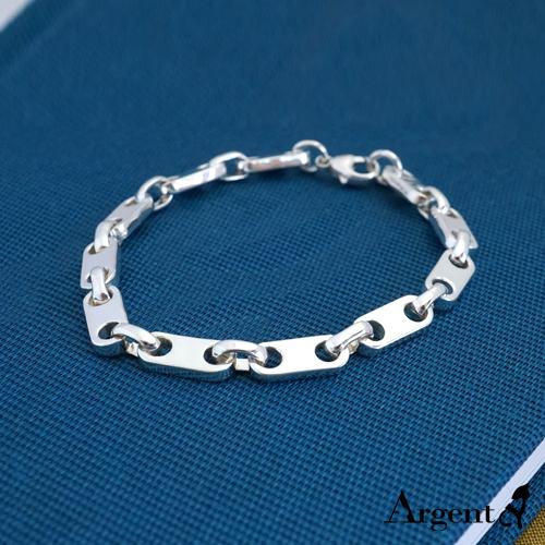 「寒冰」獨特風格純銀手鍊|925銀飾