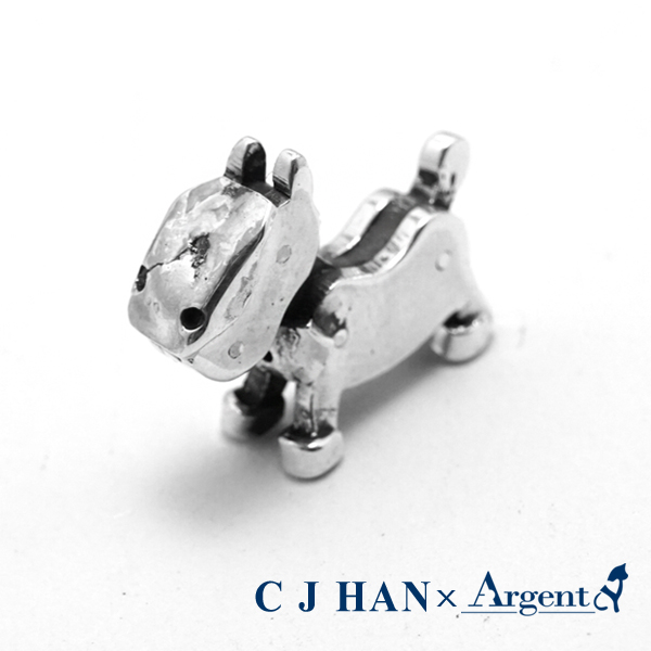 小戰馬可愛造型招財純銀擺飾銀飾|銀飾推薦