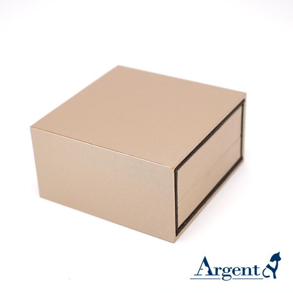 抽屉项链盒(香槟金.棕色.咖啡色)(黑底)