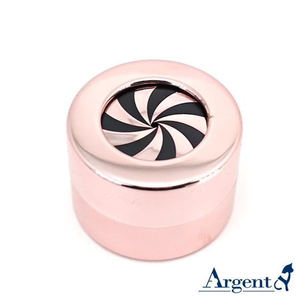 旋轉驚豔戒指盒(亮粉色)