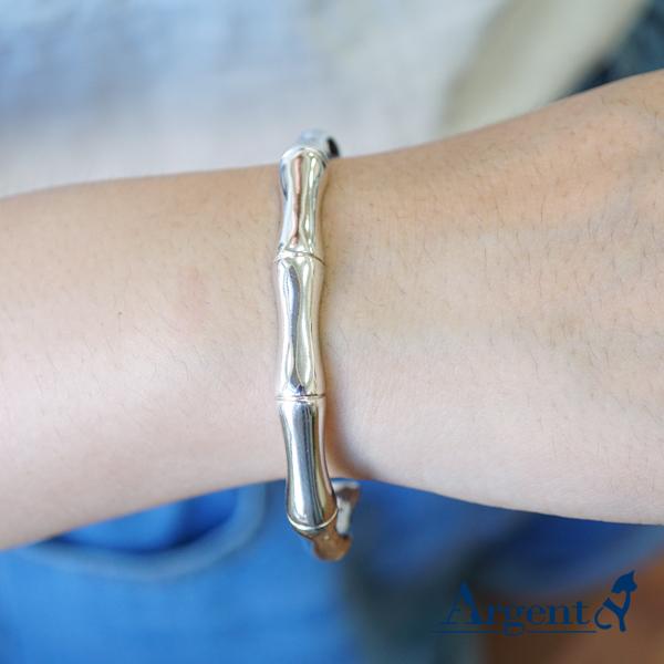 骨愛銀手鐲純銀手環|925銀飾