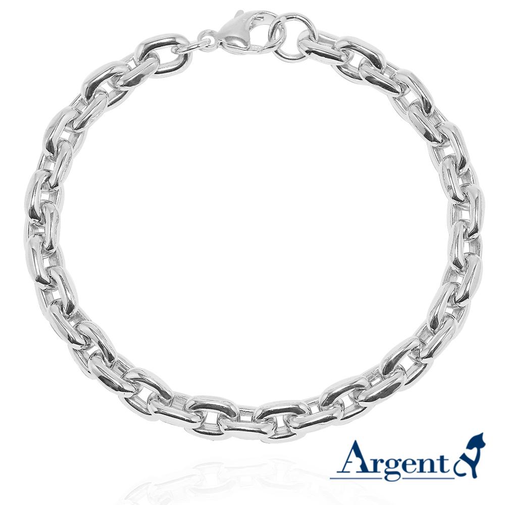 深鎖純銀手鍊|925銀飾