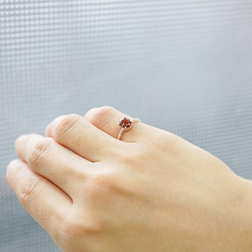 安爵銀飾-純銀幾何彩鑽