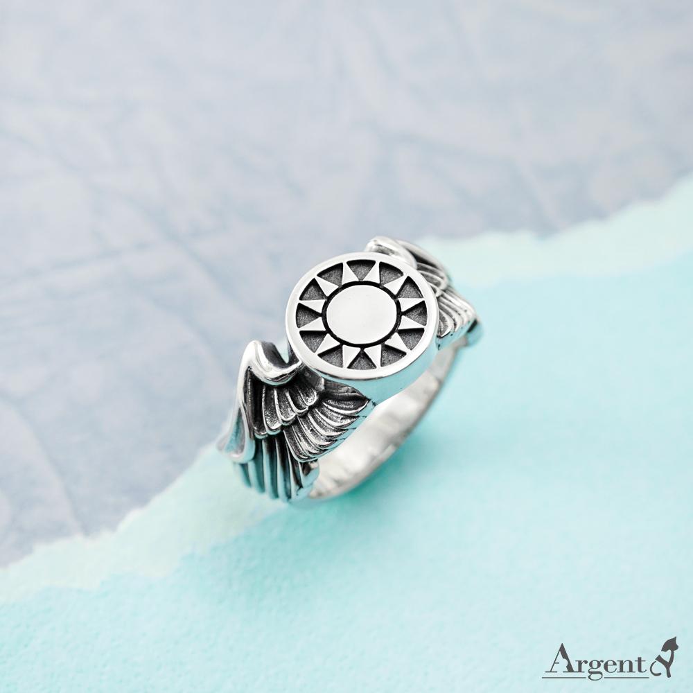 御風(空軍戒)純銀戒指純銀戒指