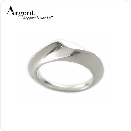 「變幻」簡約設計造型純銀戒指|戒指推薦